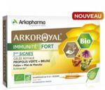 Acheter Arkoroyal Immunité Fort Solution buvable 20 Ampoules/10ml à VALENCE