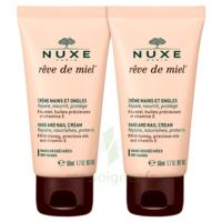 Rêve De Miel® Crème Mains Et Ongles 2*50ml à VALENCE