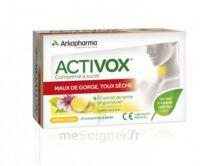 Activox Comprimés à Sucer Citron B/24 à VALENCE