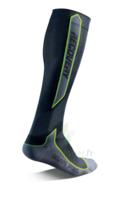 Recovery Chaussettes  Mixte Classe  Noir/vert Large 47-50 à VALENCE