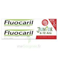 Fluocaril Junior Gel Dentifrice Fruits Rouges 6/12ans 2*75ml à VALENCE