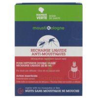 Moustikologne Recharge Diffuseur Anti-moustiques Liquide 45 Nuits à VALENCE