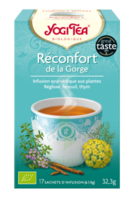 Yogi Tea Tisane Ayurvédique Réconfort De La Gorge Bio 17 Sachets/1,8g à VALENCE
