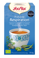 Yogi Tea Tisane Ayurvédique Profonde Respiration Bio 17 Sachets/1,8g à VALENCE