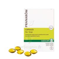 Pranarom Oleocaps 1 Caps Nez Gorge Oreilles à VALENCE