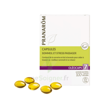 Pranarom Oleocaps 7 Caps Sommeil & Stress Passager à VALENCE