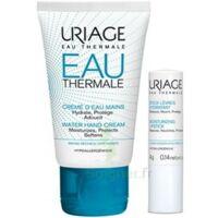 Uriage Eau Thermale Crème D'eau Mains T/30ml+stick Lèvres à VALENCE