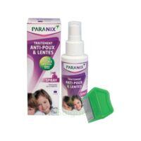 Paranix Solution Antipoux Huiles Essentielles 100ml+peigne à VALENCE