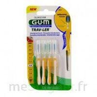 Gum Trav - Ler, 1,3 Mm, Manche Jaune , Blister 4 à VALENCE