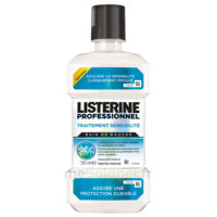 Listerine Professionnel Bain Bouche Traitement Sensibilité 500ml à VALENCE