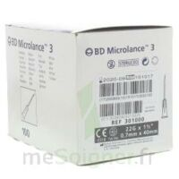 Bd Microlance 3, G22 1 1/2, 0,7 M X 40 Mm, Noir  à VALENCE