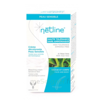 Netline Crème Visage/corps Décolorante Peau Sensible 30+30ml à VALENCE