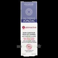 Jonzac Eau Thermale Sublimactive Crème Soin Contour Yeux Lèvres Jeunesse Immédiate 15ml à VALENCE