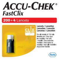 Accu-chek Fastclix Lancettes B/204 à VALENCE