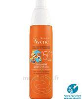 Avène Eau Thermale Solaire Spray Enfant 50+ 200ml à VALENCE
