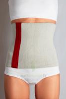 Gibaud - Ceinture Chaleur - Gris - Rouge - Hauteur 25cm - Taille M à VALENCE