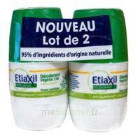 Etiaxil Végétal Déodorant 24h 2roll-on/50ml à VALENCE