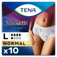 Tena Lady Silhouette Slip Absorbant Blanc Normal Large Paquet/10 à VALENCE