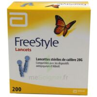 Freestyle Lancets Lancettes Stériles De Calibre 28g B/200 à VALENCE