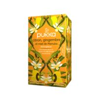 Pukka Bio Citron, Gingembre Et Miel De Manuka Tisane Immunité Citron Gingembre Miel De Manuka 20 Sachets à VALENCE