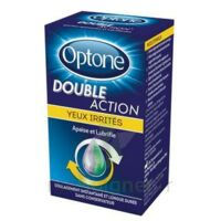 Optone Double Action Solution Oculaire Yeux Irrités Fl/10ml Promo à VALENCE