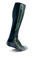 Recovery Chaussettes  Mixte Classe  Noir/vert Small 35-38 à VALENCE
