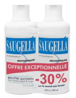 Saugella Emulsion Dermoliquide Lavante 2fl/500ml à VALENCE