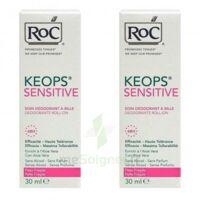 Keops Déodorant Soin Peau Fragile 2roll-on/30ml à VALENCE
